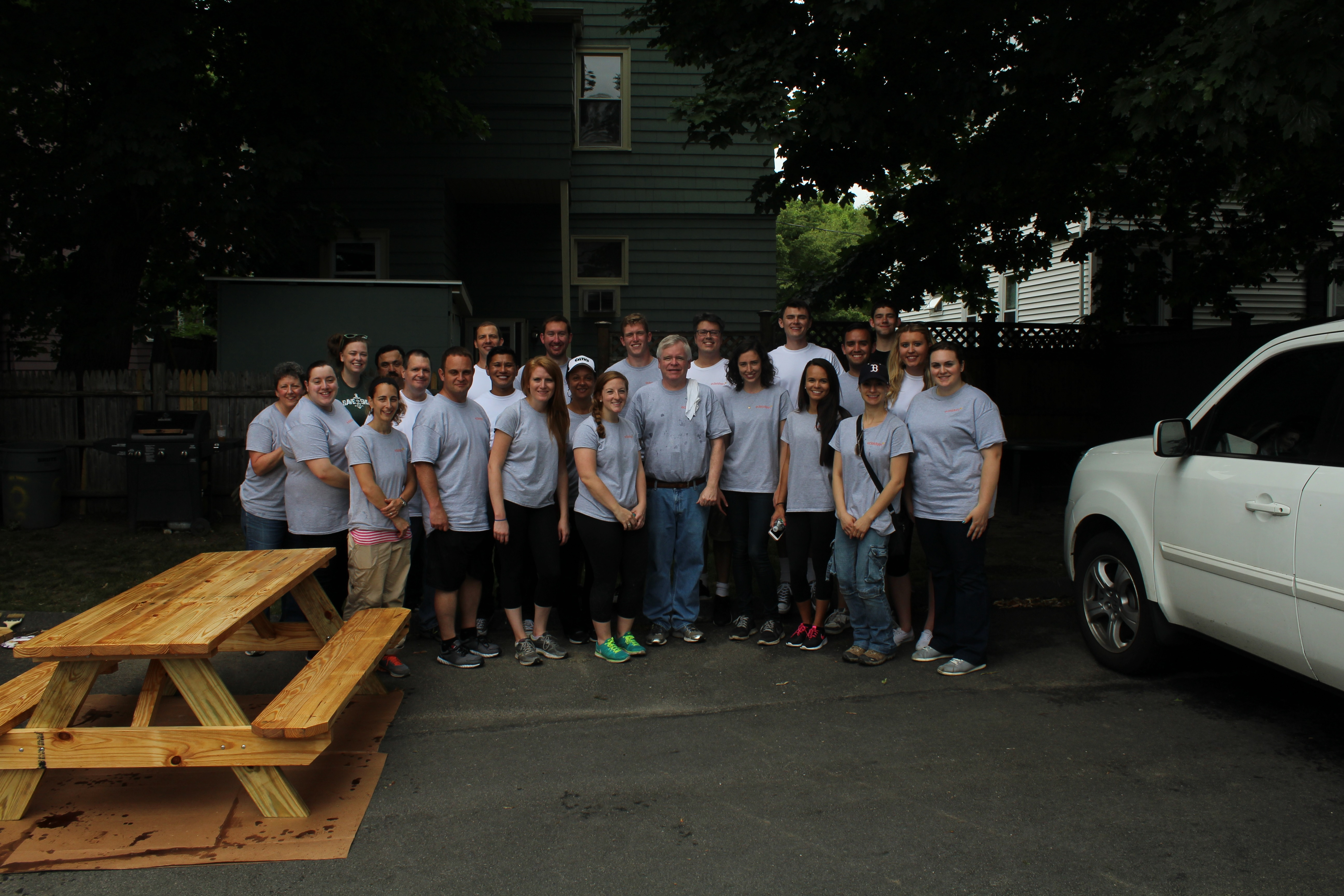 Day of Service Team Picture