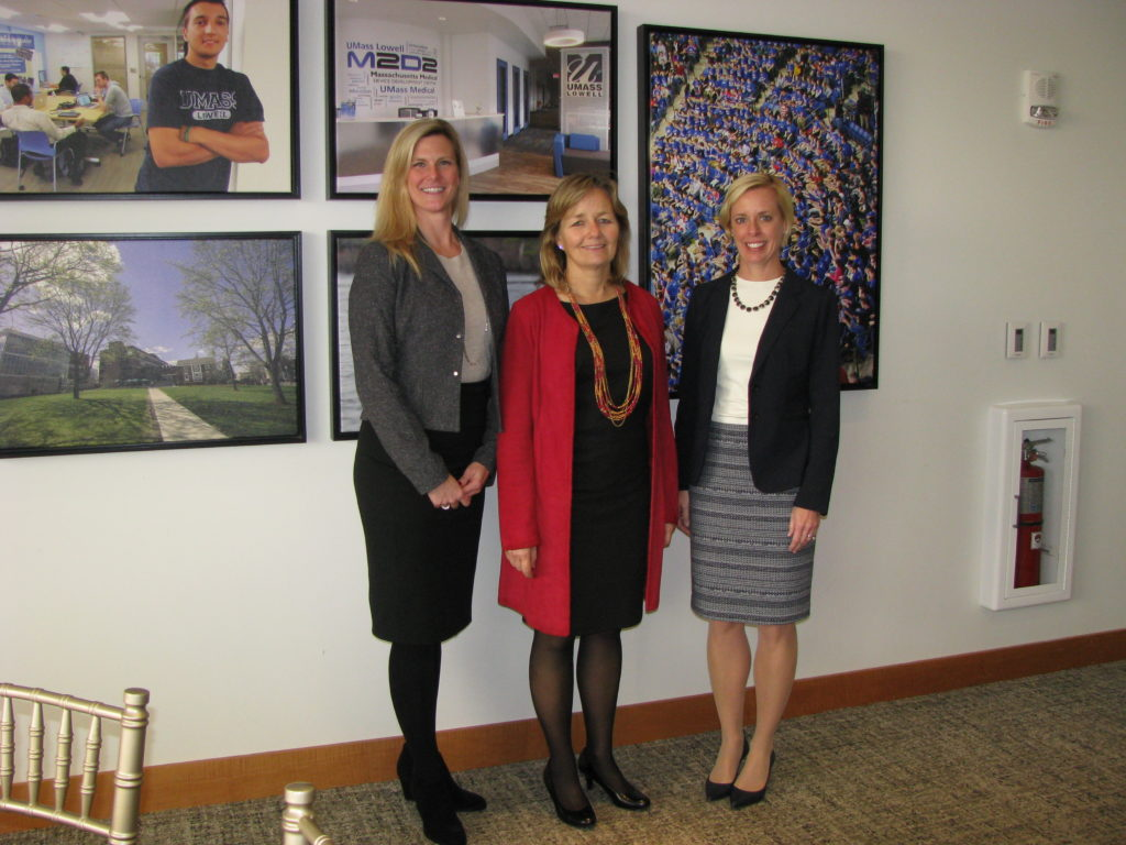 Karen Sommers, Colleen Boselli, and Michelle Hallenbeck